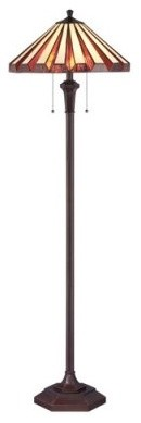 Quoizel Marquis TF1133F Floor Lamp - 18W in. - Bronze modern-floor-lamps