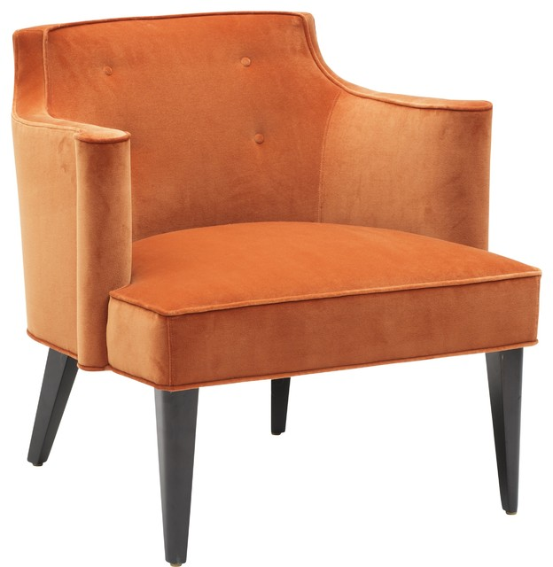 Colin Accent Chair Orange Armchairs And Accent Chairs