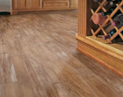 Wood Tile, the ceramic/porcelain tile that looks like wood!  