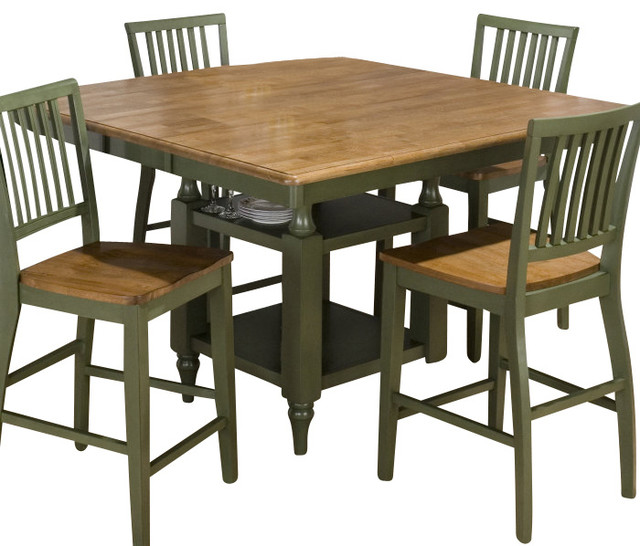 Jofran Vintage Green Rectangle Butterfly Leaf 54x42  : contemporary dining tables from houzz.com size 640 x 546 jpeg 83kB