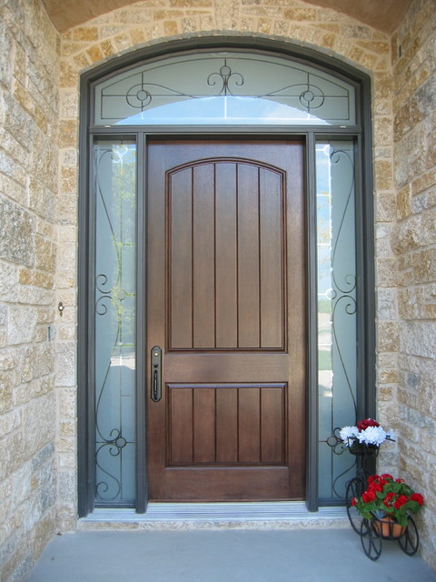 Swinging entry door designs for Front door design photos