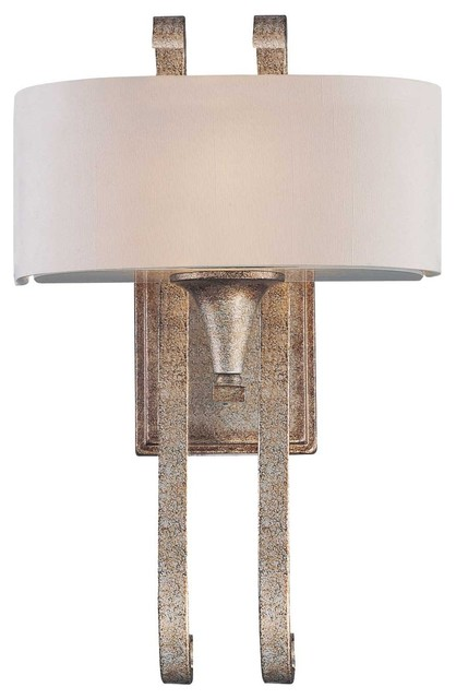 Wall Sconces Transitional : Varna 1-Light Sconce - Transitional - Wall Sconces