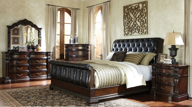 Churchill bedroom set traditional bedroom furniture sets for American freight bedroom furniture