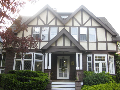 Help With Exterior Paint Colors For Arts Crafts Tudor Revival