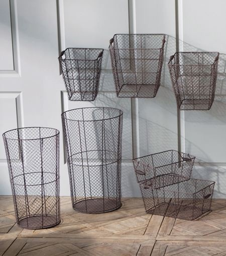 Wire Baskets eclectic-baskets