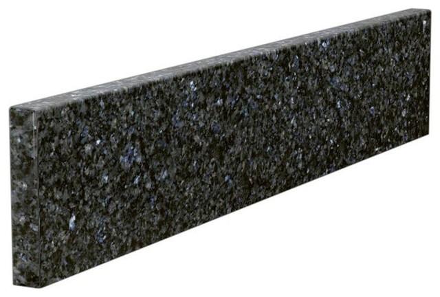 Vanity Side Splash : Solieque counter tops in granite sidesplash blue