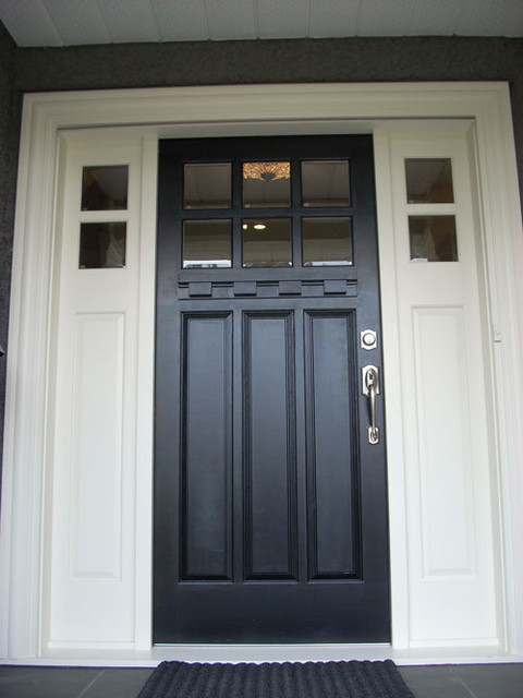 Front Door Close Up Traditional Front Doors Vancouver By Doorex