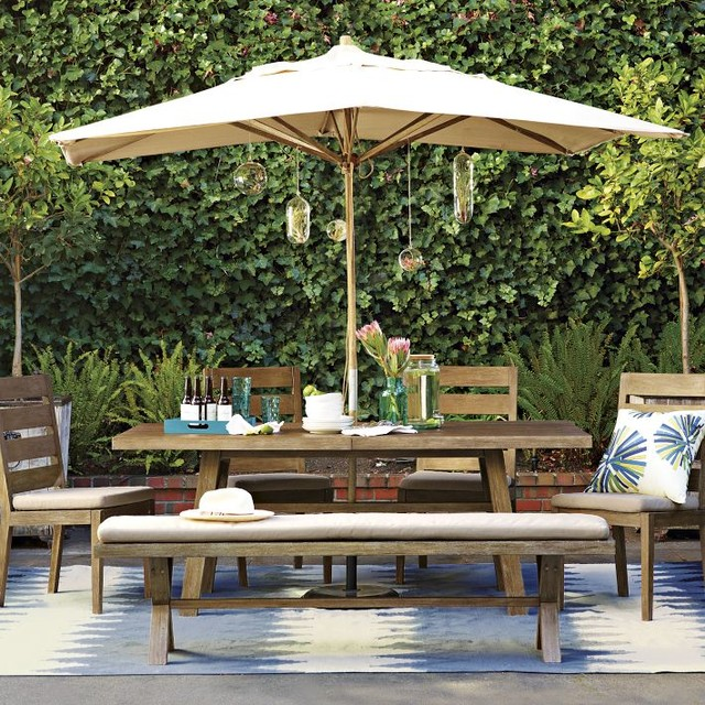 Jardine Dining Collection Contemporary patio furniture and