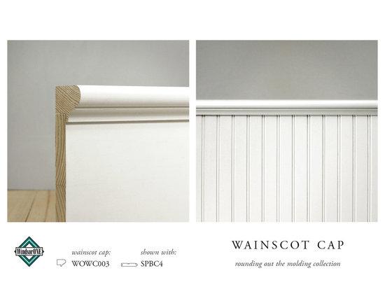 WindsorONE Wainscot Caps -