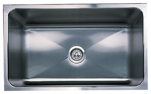BlancoMagnum Stainless Steel Undermount modern kitchen sinks