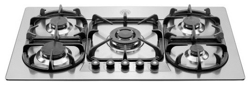 """Bertazzoni 36"""" Professional Series Cooktop, Stainless Steel 