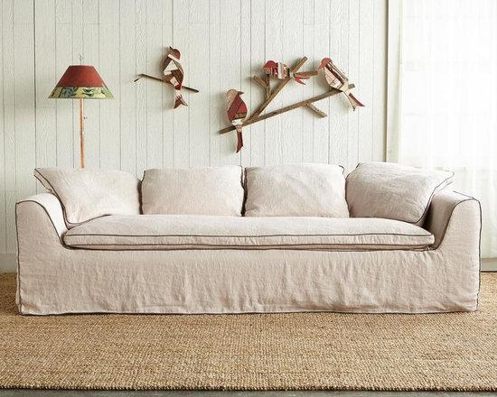 Harper Slipcovered Sofa -