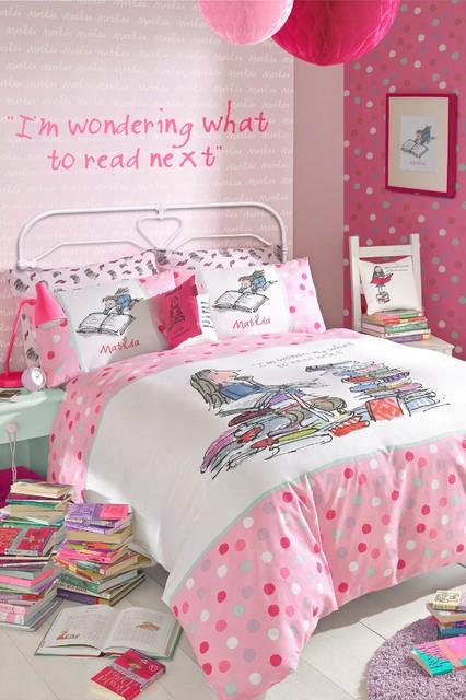 Roald Dahl Matilda Bed Set Contemporary Childrens Bedding