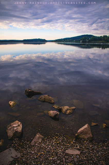 From the Depth of Silence. Ladoga Lake contemporary-artwork