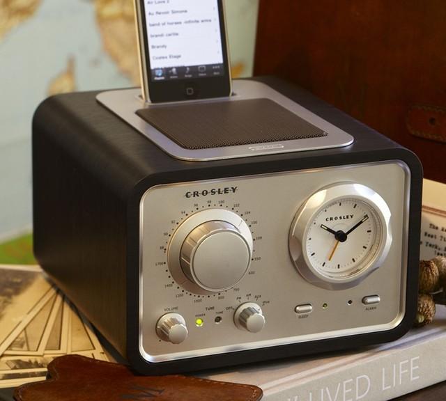 Iduet Alarm Clock Radio Contemporary Alarm Clocks By