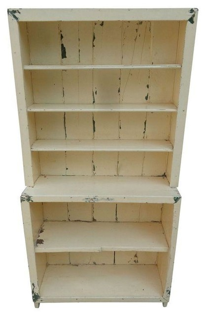 Antique Primitive Step-Back Cupboard - Modern - Storage Cabinets - by Chairish