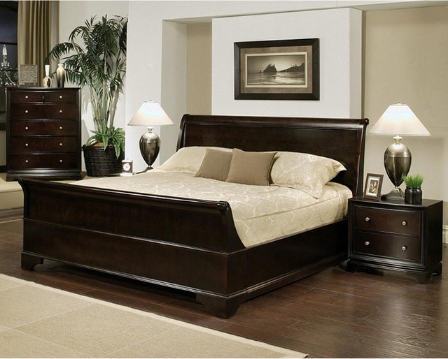 King Size Sleigh Bed Set 640 x 514