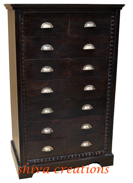 Sheesham wood chest drawer asian-dressers-chests-and-bedroom-armoires