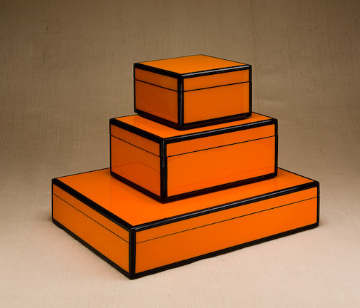 Lacquer Boxes contemporary-storage-bins-and-boxes