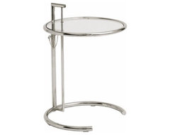 Fine Mod Imports Round End Table contemporary-side-tables-and-end-tables