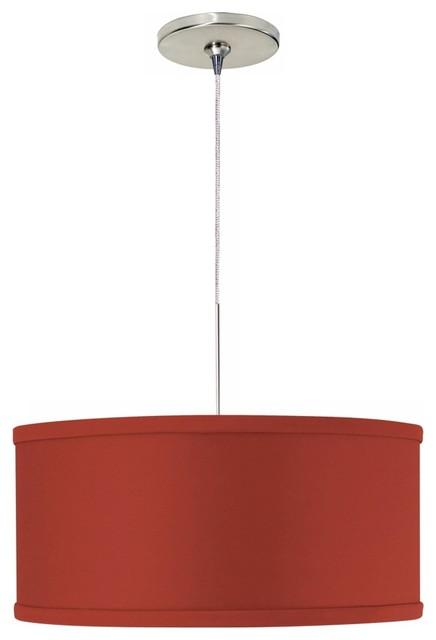 Mini Mulberry Red Tech Lighting Pendant Light contemporary-pendant-lighting