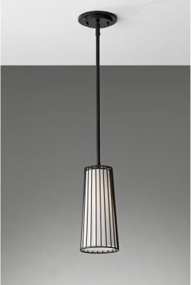 Murray Feiss Urban Renewal P1248BK mini-pendant - 5.25W in. - Black modern-ceiling-lighting
