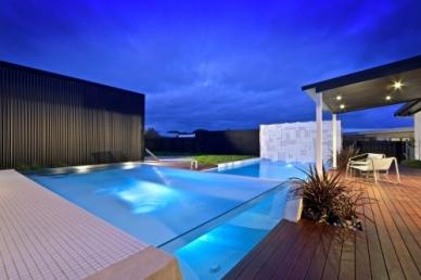 Swimming Pool Builders, Swimming Pool Construction, Pool Landscaping modern pool