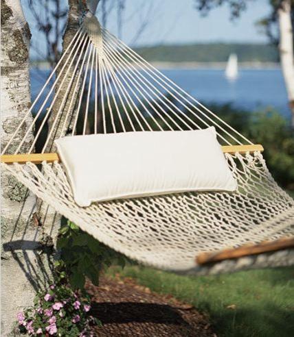 Cotton Hammock: Hammocks traditional-hammocks-and-swing-chairs