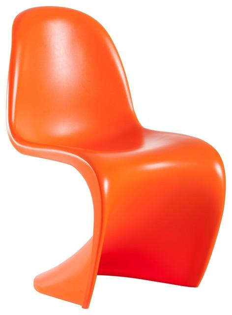 Baby s orange childrens chair sets modern children 39 s for Orange kids chair