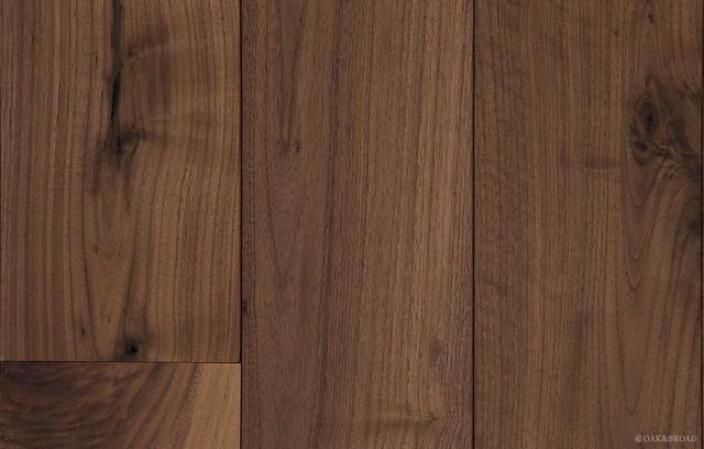 Oiled Black Walnut Wood Flooring - Craftsman - Hardwood ...