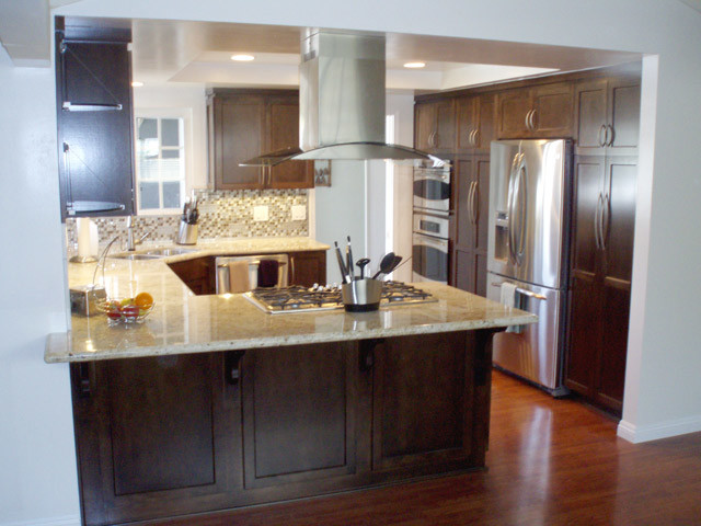 European Style Kitchen Cabinets - Modern - los angeles - by Frontier Cabinets, Inc.