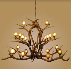 Log Furniture traditional chandeliers