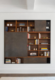 PS04 Slide Cabinet From Andrew Franz Architect on Carlisle Wide Plank Floors Blog