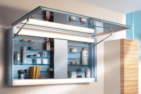 EDITION 300 Keuco Bathroom Cabinet contemporary-bathroom-mirrors