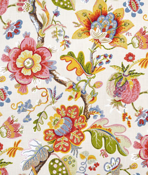 Braemore Wonderland Pearl traditional fabric
