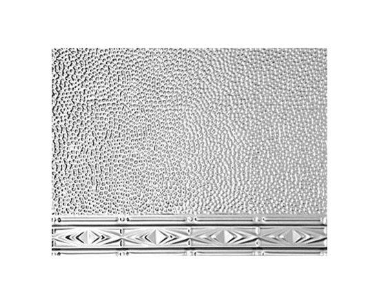 2417 ART DECO BACKSPLASH - Real Metal Backsplashes.