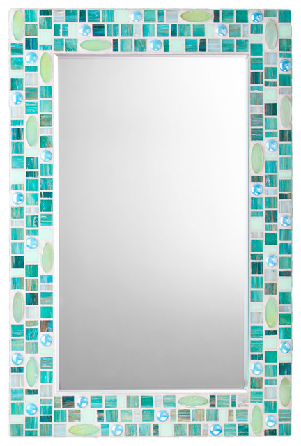 Innovative And Its Easy To Get Pieces Of Mirror Glass Cut To Size At A Local Merchant Want To See Another Hotelchic Bathroom Makeover  Grey Wall Tiles 15 X 60cm, &16357