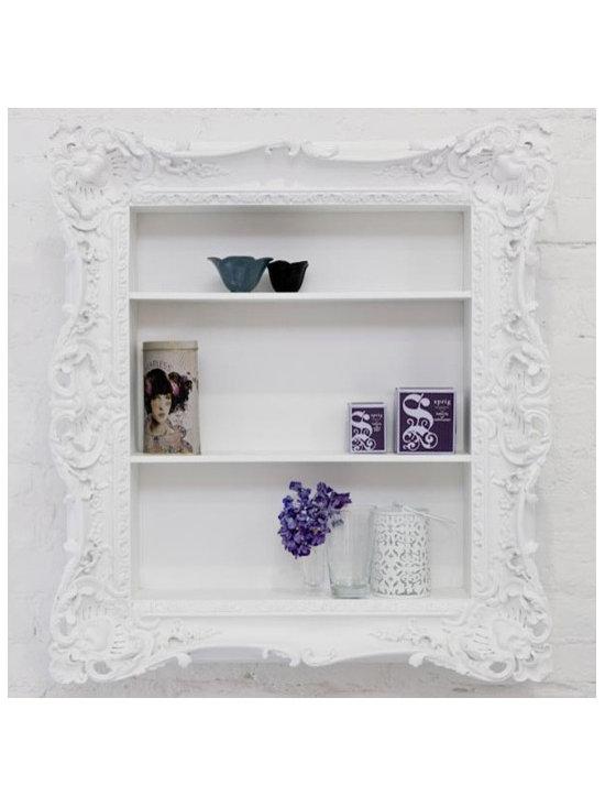 Ruffle Frame Shelf -