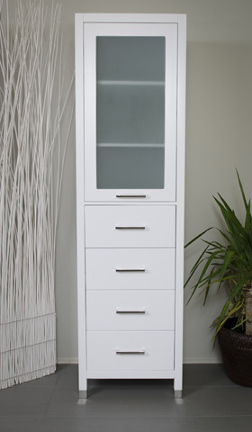 Large Linen Cabinet - Contemporary - Bathroom Cabinets And Shelves - vancouver - by ...