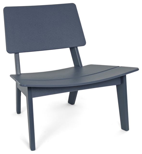 Lago Chair Charcoal Grey Contemporary Outdoor Chairs