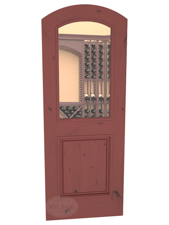 CellarSelect™ Wine Cellar Door: MalbecHalf Lite (Cherry Stain with Lacquer) -