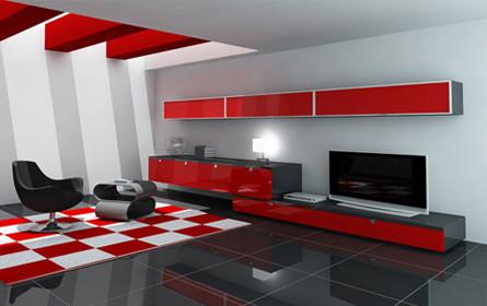Contemporary living room modern