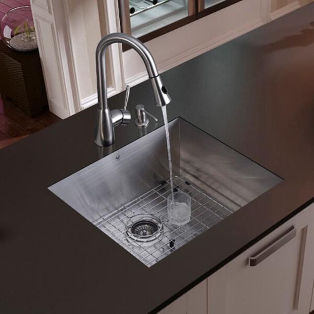 vigo vg15048 single basin undermount kitchen sink and