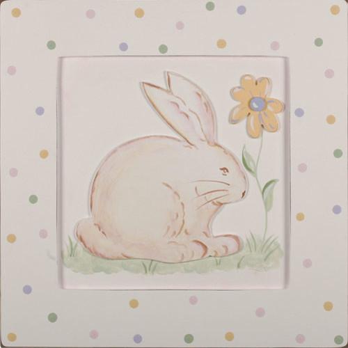 Bunny 3D Hand Painted Art modern-artwork