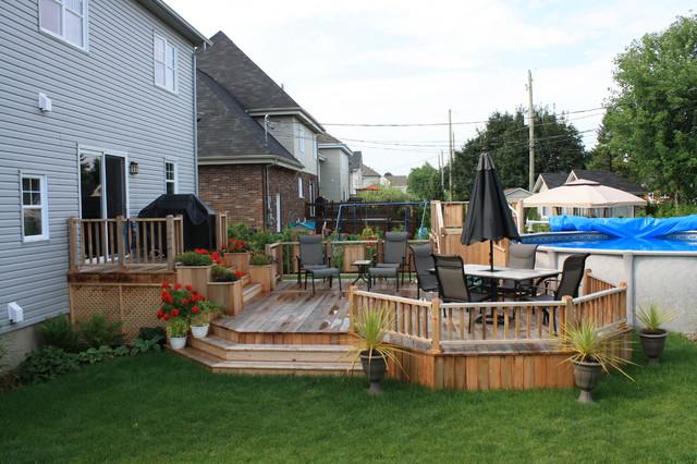 Patio Deck-Art Design® traditional-porch