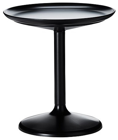 Ikea PS Sandskär Tray Table, Black modern-outdoor-tables