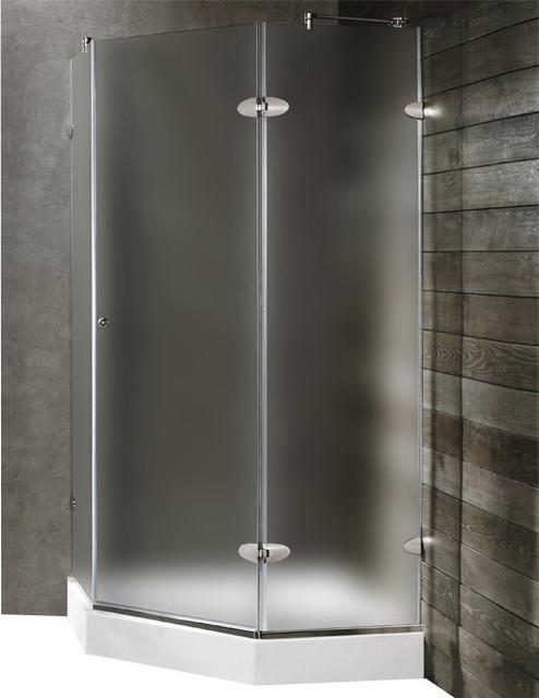 VIGO VG6061CHMT40WL Neo-Angle Shower modern-showerheads-and-body-sprays