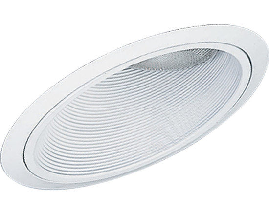 """Progress Lighting P8004 Recessed Lighting Series 6"""" IC 45-Degree Sloped Ceiling - Add some new flair to your sloped ceiling with this IC rated recessed lighting trim for existing recessed lighting setup. Featuring a Alzak finish and a reflective interior cone for greater light reflection, this trim is the perfect addition to your recessed lighting repertoire."""
