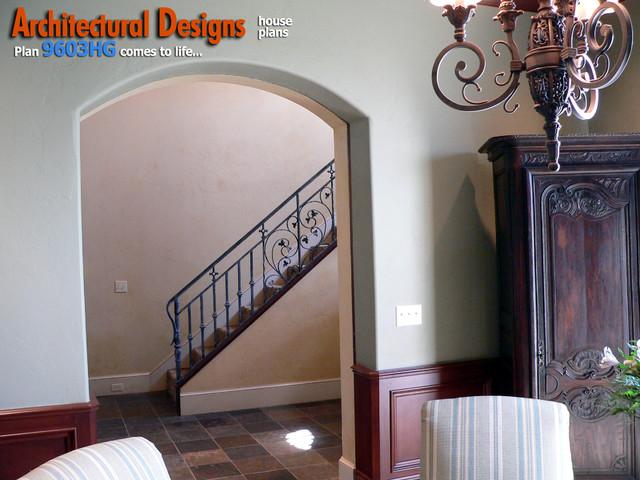 Architectural Designs 4 Bedroom European House Plan 9603hg