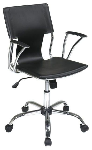 Office Chair in Black - Avenue Six Dorado contemporary-task-chairs